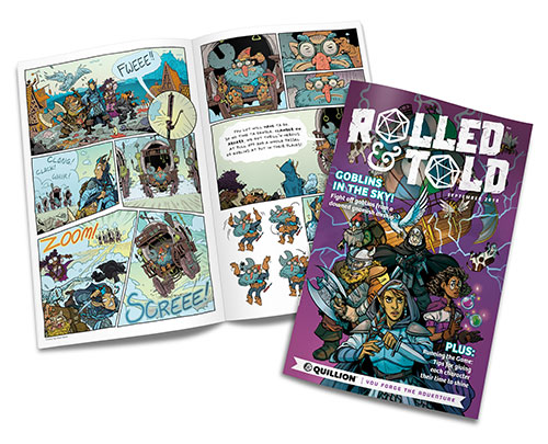 Rolled and Told Issue No. 1 Cover