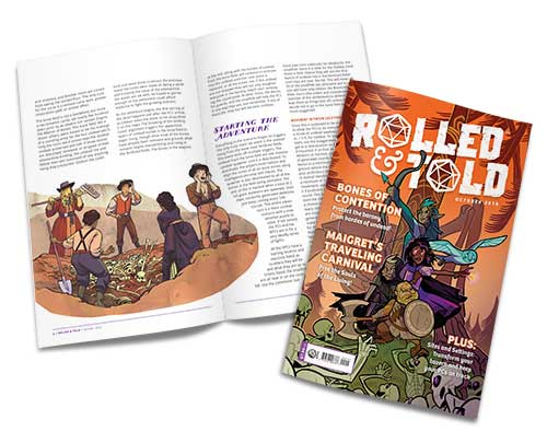 Rolled and Told Issue 2