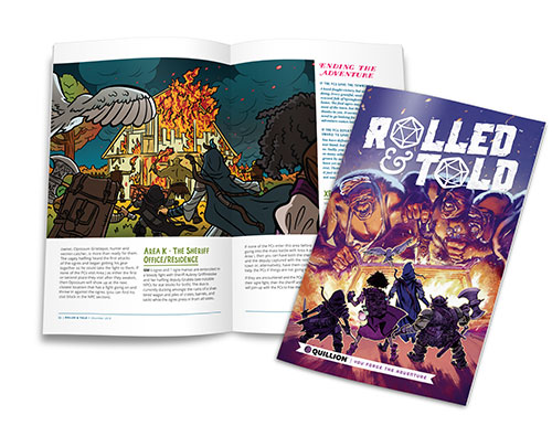 Rolled and Told Issue 4