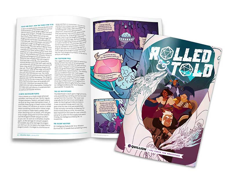 Rolled and Told Issue 5