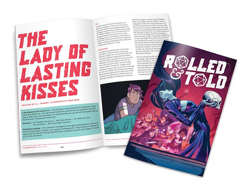 Rolled and Told Issue #6