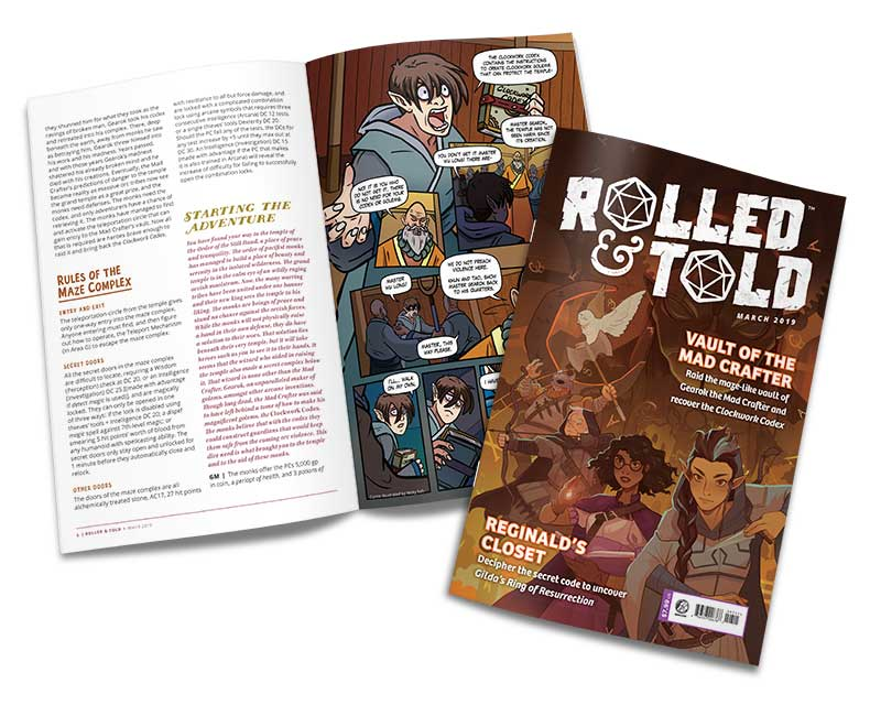 Rolled and Told Issue 7