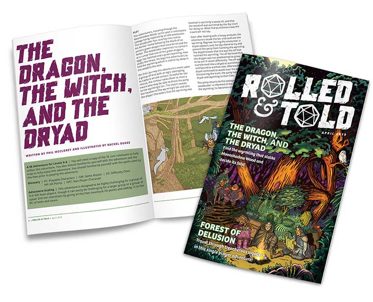 Rolled and Told Issue #8