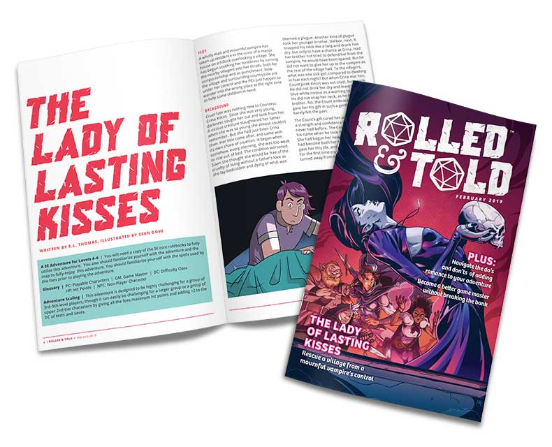Rolled & Told Issue #6 Cover